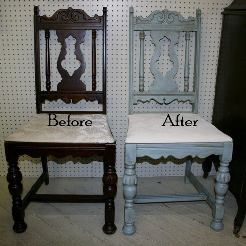 Furniture Painting With Chalky Finish Paints 3summer Arts